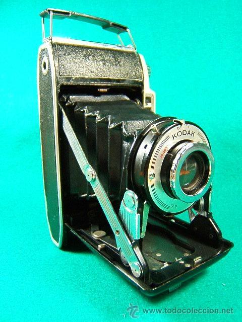 KODAK MODELE B II 11 CAMERA-FUELLE-USA CARRETE 620-B Y I-ENF: 1,50-6M-INFINITO-10-11-16-22-32-CAMARA (Cámaras Fotográficas - Clásicas (no réflex))