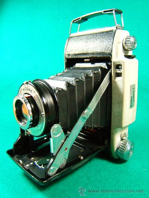Cámara de fotos: KODAK MODELE B II 11 CAMERA-FUELLE-USA CARRETE 620-B Y I-ENF: 1,50-6M-INFINITO-10-11-16-22-32-CAMARA - Foto 2 - 40817926
