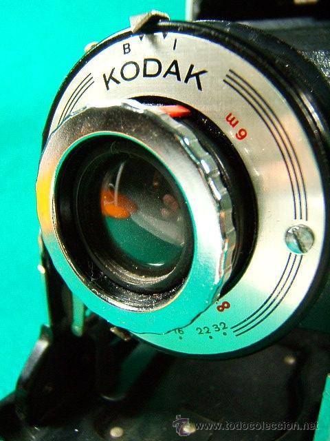 Cámara de fotos: KODAK MODELE B II 11 CAMERA-FUELLE-USA CARRETE 620-B Y I-ENF: 1,50-6M-INFINITO-10-11-16-22-32-CAMARA - Foto 3 - 40817926