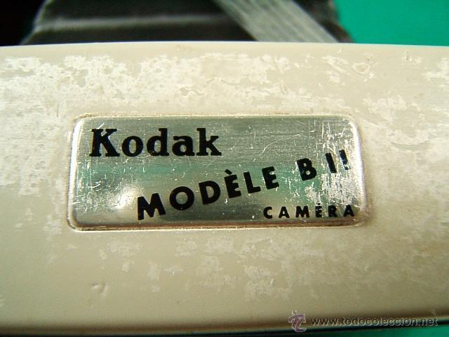 Cámara de fotos: KODAK MODELE B II 11 CAMERA-FUELLE-USA CARRETE 620-B Y I-ENF: 1,50-6M-INFINITO-10-11-16-22-32-CAMARA - Foto 5 - 40817926
