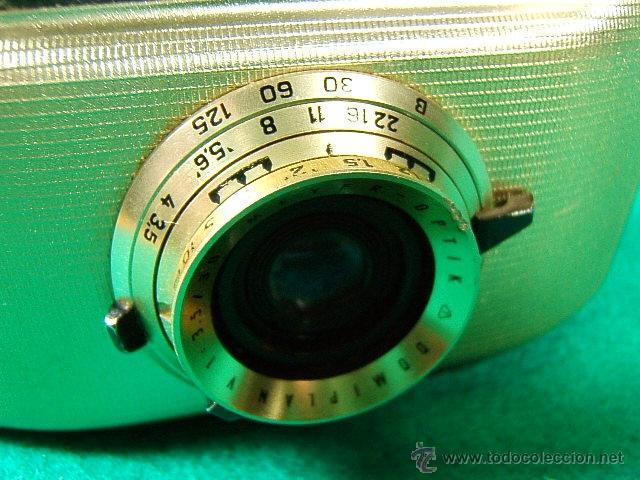 Cámara de fotos: PENTI II-WELTA-31874-GERMANY 12/2034-OBJ:DOMIPLAN V I 3,5/30-MEYER OPTIK-ORIGINAL SISTEMA DE CARGA - Foto 2 - 40862952