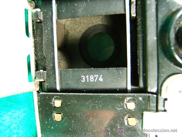 Cámara de fotos: PENTI II-WELTA-31874-GERMANY 12/2034-OBJ:DOMIPLAN V I 3,5/30-MEYER OPTIK-ORIGINAL SISTEMA DE CARGA - Foto 10 - 40862952