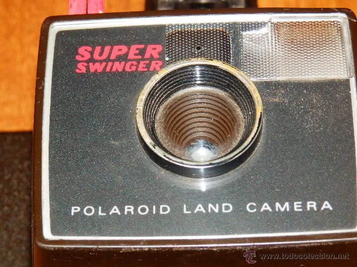 CAMARA FOTOGRAFICA FOTOS POLAROID SUPER SWINGER SUPERSWINGER LAND CAMERA UNITED KINGDOM VER FOTOS segunda mano