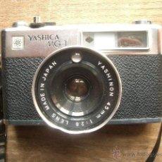 Cámara de fotos: YASHICA MG-1. Lote 41364034