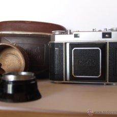 Cámara de fotos: KODAK RETINA IIA (TIPO 150 ) + COMPLEMENTOS / FUNCIONANDO. Lote 41477255