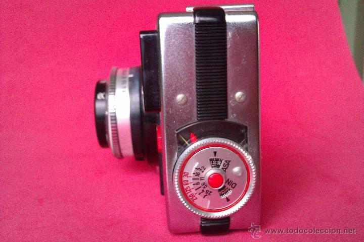 Cámara de fotos: BRAUN PAXETTE 28BC 2,8 38MM 38MM CAMARA DE LOS AÑOS 60 MADE IN GERMANY - Foto 3 - 135805661