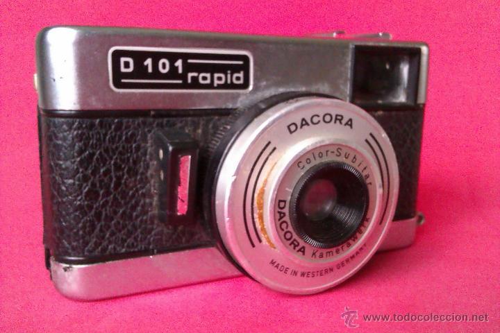 CAMARA DACORA D101 RAPID 1964 MADE IN WESTERN GERMANY - DIFICIL - (Cámaras Fotográficas - Clásicas (no réflex))