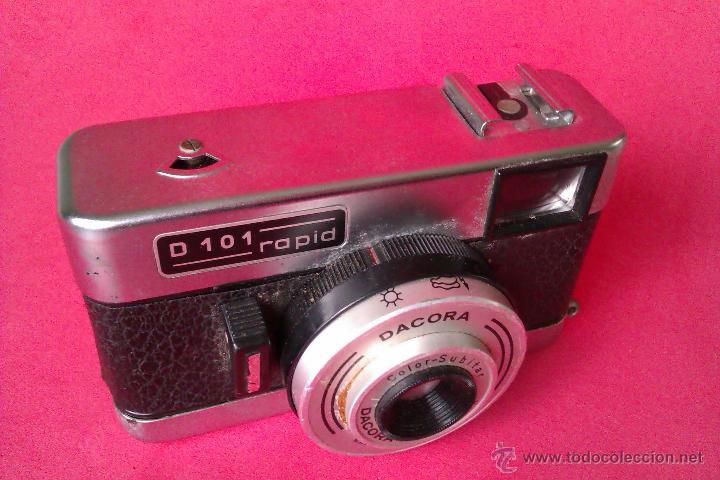 Cámara de fotos: CAMARA DACORA D101 RAPID 1964 MADE IN WESTERN GERMANY - DIFICIL - - Foto 2 - 42570367