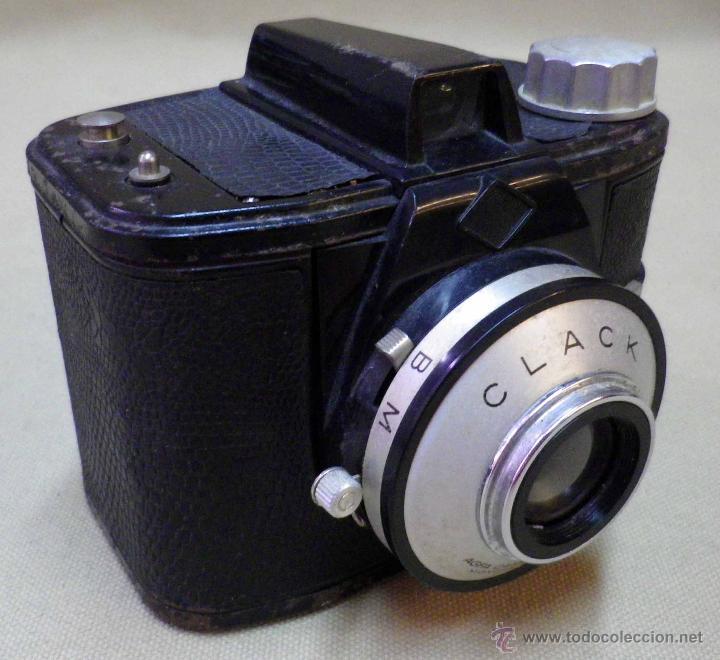 Cámara de fotos: CAMARA FOTOGRAFICA AGFA CLACK , ALEMANIA, 1953 - Foto 3 - 42662886