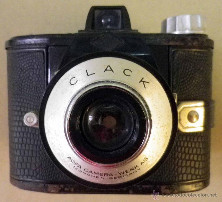 Cámara de fotos: CAMARA FOTOGRAFICA AGFA CLACK , ALEMANIA, 1953 - Foto 8 - 42662886
