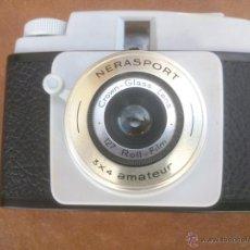 Cámara de fotos: CAMARA FOTOGRAFICA NERASPORT 3X4 AMATEUR CON INSTRUCIONES. Lote 42981131
