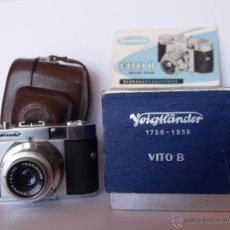 Cámara de fotos: VOIGTLANDER VITO B / FUNCIONANDO / EXCELENTE ESTADO. Lote 43106339