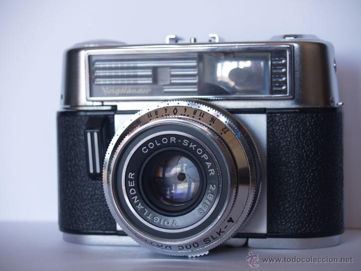 Cámara de fotos: VOIGTLANDER VITOMATIC IIb / FUNCIONANDO Y EN EXCELENTE ESTADO - Foto 2 - 43108183