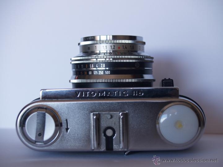 Cámara de fotos: VOIGTLANDER VITOMATIC IIb / FUNCIONANDO Y EN EXCELENTE ESTADO - Foto 3 - 43108183