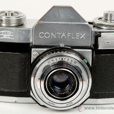 Cámara de fotos: ZEISS IKON CONTAFLEX II TESSAR 45MM/2.8 -FUNCIONA- AÑO 1955. Lote 43161560