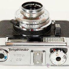Cámara de fotos: VOIGTLANDER VITO CD. Lote 43166114