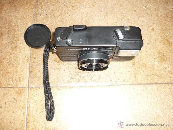 Cámara de fotos: CÁMARA CLÁSICA DE COLECCIÓN KONICA C35 EF (1974) - Foto 3 - 43988043