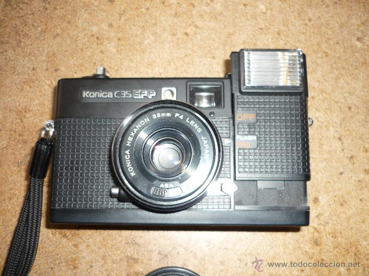 Cámara de fotos: CÁMARA CLÁSICA DE COLECCIÓN KONICA C35 EF (1974) - Foto 8 - 43988043