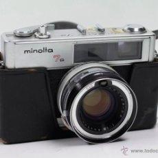 Cámara de fotos - cámara MInolta 7s. Objetivo 45mm. f1,8. En buen estado general, en funcionamiento. - 44167922