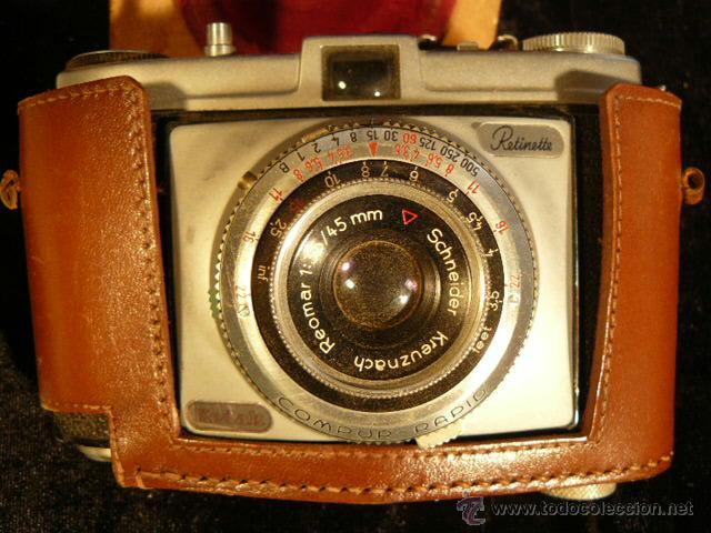 Cámara de fotos: CAMARA FOTOGRAFICA KODAK RETINETTE - Foto 2 - 44255588