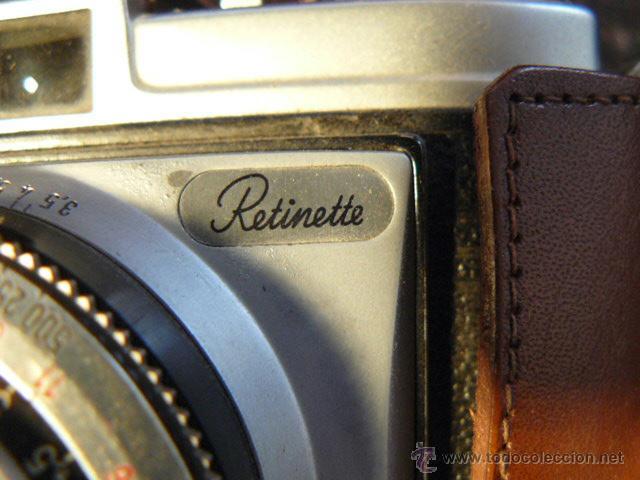 Cámara de fotos: CAMARA FOTOGRAFICA KODAK RETINETTE - Foto 3 - 44255588
