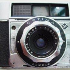 Cámara de fotos: CAMARA FOTOGRAFICA AGFA COLOR APOTAR S- OPTIMA COMPUR - 6110. Lote 45266503