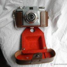 Cámara de fotos: CAMARA WERLISA - I -- ACROMATICO 50 MMF 7,5 COLOR GRIS. Lote 46158257