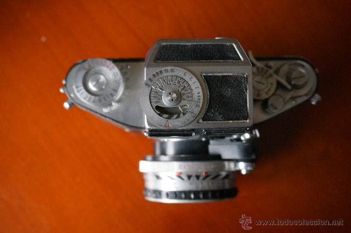 Cámara de fotos: Antigüa Exakta Varex.muy rara con lente 50 Carl Zeiss. - Foto 2 - 56863990