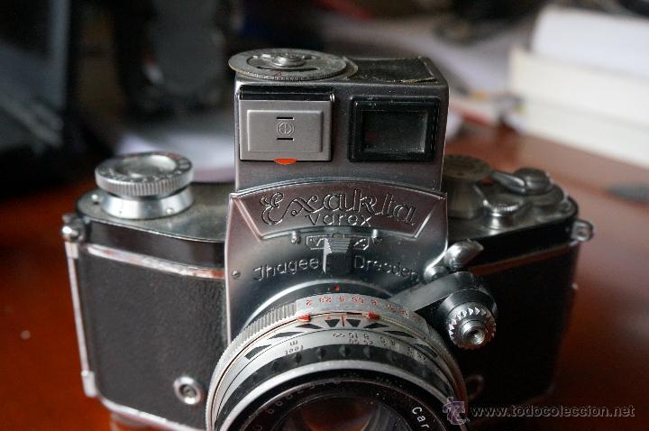 Cámara de fotos: Antigüa Exakta Varex.muy rara con lente 50 Carl Zeiss. - Foto 3 - 56863990