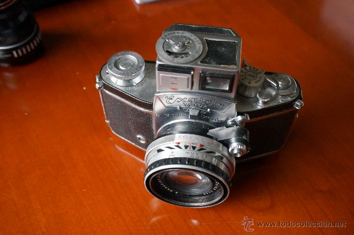 Cámara de fotos: Antigüa Exakta Varex.muy rara con lente 50 Carl Zeiss. - Foto 4 - 56863990