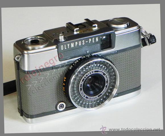 ANTIGUA CÁMARA DE FOTOS OLYMPUS PEN EE-2 - AÑOS 60 70 VINTAGE MÁQUINA - FOTOGRÁFICA FOTOGRAFÍA - EE2 (Cámaras Fotográficas - Clásicas (no réflex))