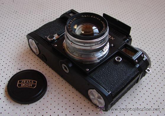 Cámara de fotos: Zeiss Ikon Contax IIIa Copia de la edición especial lacada en Negro - Foto 2 - 154128564