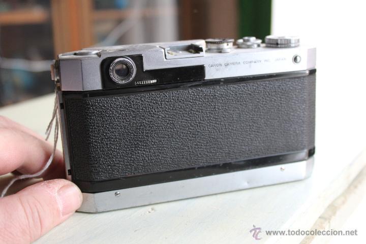 Cámara de fotos: Canon VT + Objetivo Júpiter 50mm 1:2 - Foto 3 - 47639668