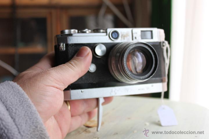 Cámara de fotos: Canon VT + Objetivo Júpiter 50mm 1:2 - Foto 5 - 47639668
