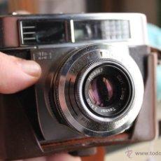 Cámara de fotos: ZEISS IKON. CÁMARA CONTESSA LK + FUNDA DE CUERO (OBJETIVO TESSAR 2,8 50). Lote 47768782