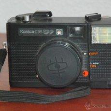 Cámara de fotos: CAMARA FOTOGRAFICA CLASICA KONICA C35 EF AÑOS 70. Lote 48047896