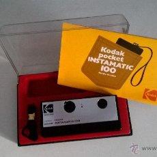 Cámara de fotos: CÁMARA KODAK POCKET INSTAMATIC 100 (EQUIPO DE COLOR). Lote 48693595