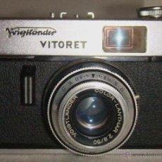 Cámara de fotos: ANTÍGUA CÁMARA DE FOTOS MARCA VOIGTLANDER VITORET. Lote 48834841