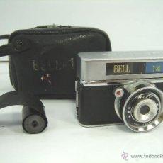 Cámara de fotos: MINI CAMARA ESPIA - BELL 14 - CON FUNDA - MADE IN JAPAN AÑOS 70 ¡¡ DISPARA ¡¡¡. Lote 102124970