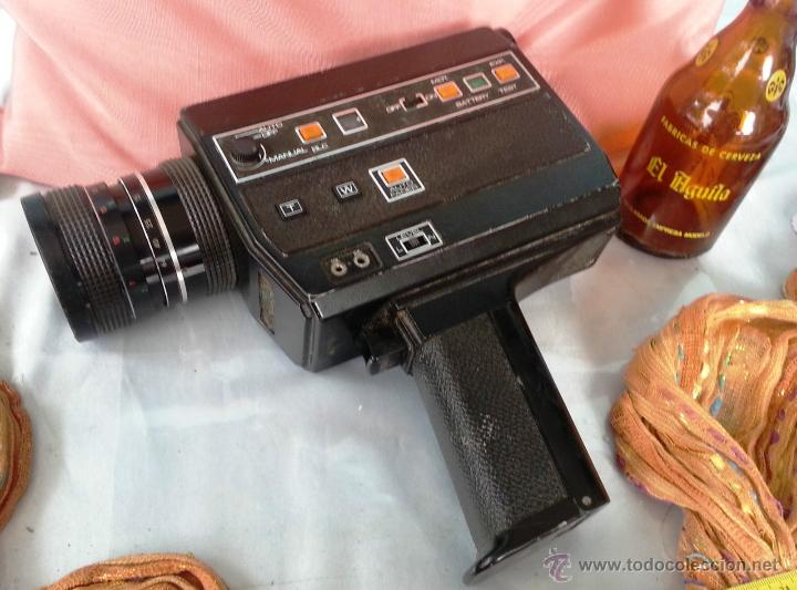 VIEJO TOMAVISTAS SUPER 8 MODELO 805 MACRO SOUND (Cámaras Fotográficas - Clásicas (no réflex))