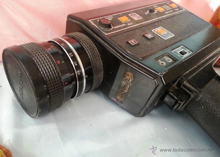 Cámara de fotos: VIEJO TOMAVISTAS SUPER 8 MODELO 805 MACRO SOUND - Foto 2 - 48919462