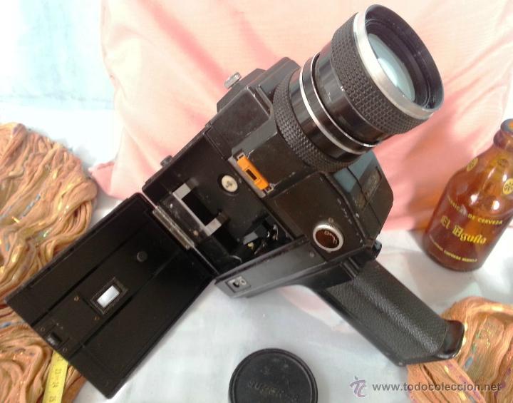 Cámara de fotos: VIEJO TOMAVISTAS SUPER 8 MODELO 805 MACRO SOUND - Foto 3 - 48919462