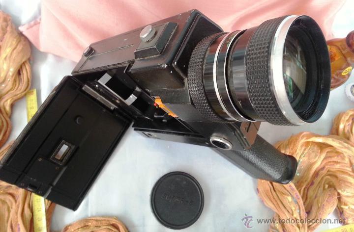 Cámara de fotos: VIEJO TOMAVISTAS SUPER 8 MODELO 805 MACRO SOUND - Foto 4 - 48919462