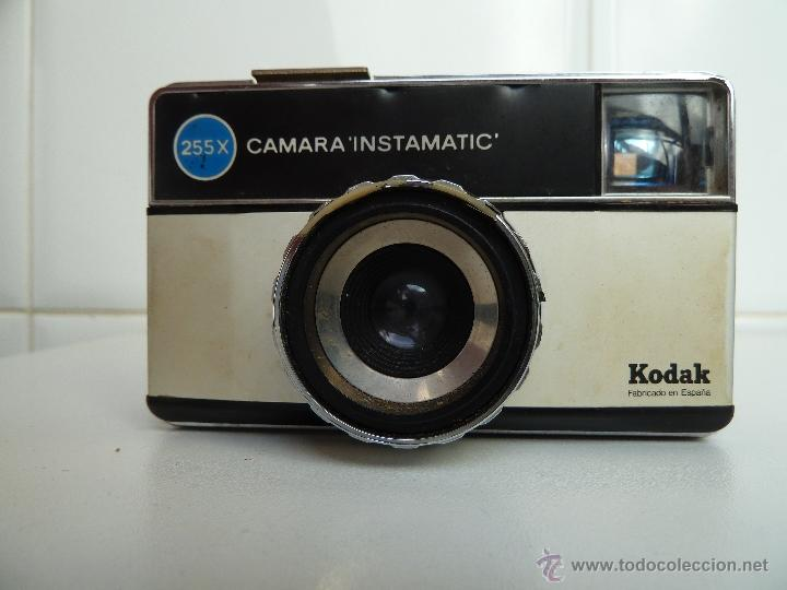 KODAK 255X INSTAMATIC CAMERA VINTAGE (Cámaras Fotográficas - Clásicas (no réflex))