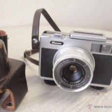 Cámara de fotos: CAMARA ANTIGUA RICOH AUTO 126, MUY RARA, AÑOS 60, CON FUNDA. Lote 49403697