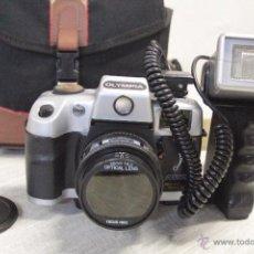 Cámara de fotos: CAMARA FOTOGRAFICA MARCA OLYMPIA MODELO 6000SEL CON BOLSA DE TRANSPORTE. Lote 49404896