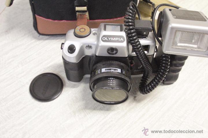 Cámara de fotos: CAMARA FOTOGRAFICA MARCA OLYMPIA MODELO 6000SEL CON BOLSA DE TRANSPORTE - Foto 2 - 49404896