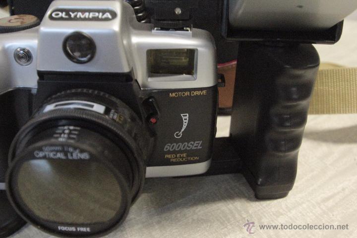 Cámara de fotos: CAMARA FOTOGRAFICA MARCA OLYMPIA MODELO 6000SEL CON BOLSA DE TRANSPORTE - Foto 6 - 49404896