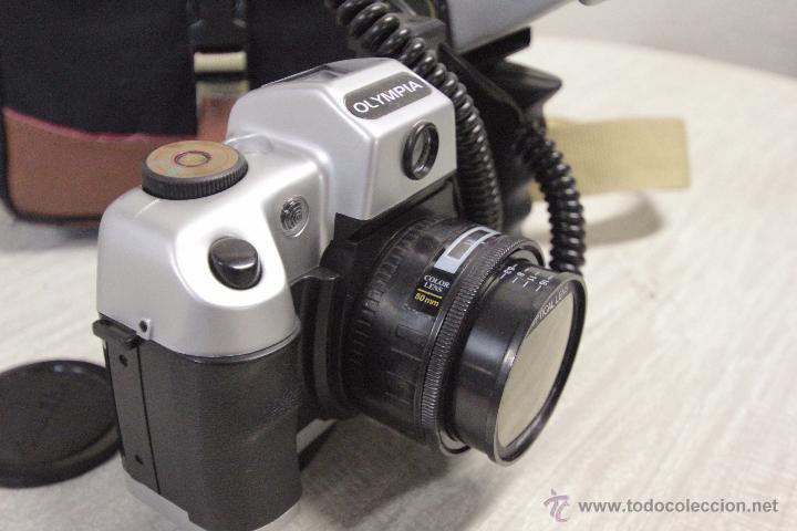 Cámara de fotos: CAMARA FOTOGRAFICA MARCA OLYMPIA MODELO 6000SEL CON BOLSA DE TRANSPORTE - Foto 7 - 49404896