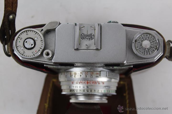 Cámara de fotos: CAMARA BRUMAN NORNMBERG SUPER COLORETTE. COMPUR RAPID 1:2.8 F 45 MM, - Foto 2 - 49572219